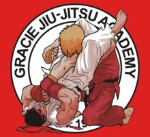 RYU VS KEN - GRACIE JIU-JITSU STYLE One Piece - Short Sleeve