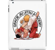 RYU VS KEN - GRACIE JIU-JITSU STYLE iPad Case/Skin
