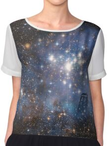 Adventures in Time and Space Chiffon Top