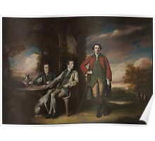 The Honorable Henry Fane () with Inigo Jones and Charles Blair Artist Sir Joshua Reynolds (British, Plympton  London) Poster