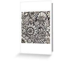Flower Doodle Greeting Card