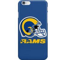 LOS ANGELES RAMS FOOTBALL RETRO (2) iPhone Case/Skin