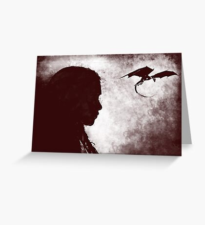 khaleesi Greeting Card