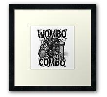 Wombo Combo Framed Print