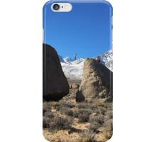 Meandering Among Mountains iPhone Case/Skin