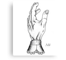 The Hand of a Buisness man Metal Print