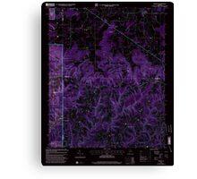 USGS TOPO Map Alabama AL Massey 304508 2000 24000 Inverted Canvas Print