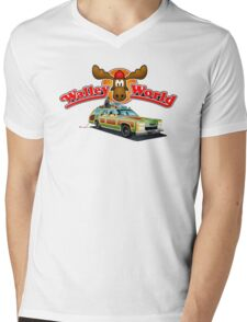 WALLEY WORLD - NATIONAL LAMPOONS VACATION (2) Mens V-Neck T-Shirt