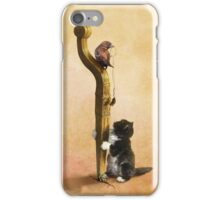 The Cat, the Bird and the Mouse iPhone Case/Skin