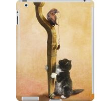 The Cat, the Bird and the Mouse iPad Case/Skin