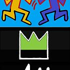 for basquiat - maybe haring too by mhkantor