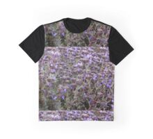 Lavender Flowers Graphic T-Shirt