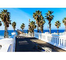 Oceanside California Pier Photographic Print