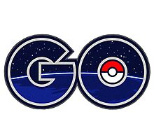 pokemon go logo Photographic Print