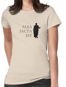 Caesar Alea Iacta Est Womens Fitted T-Shirt