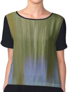 Intentional Camera Movement - Bluebell Woods Chiffon Top