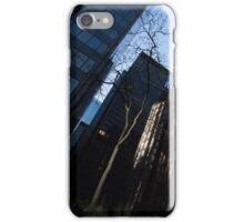 A Study in Contrasts - Downtown Toronto Miniature Park - Right iPhone Case/Skin