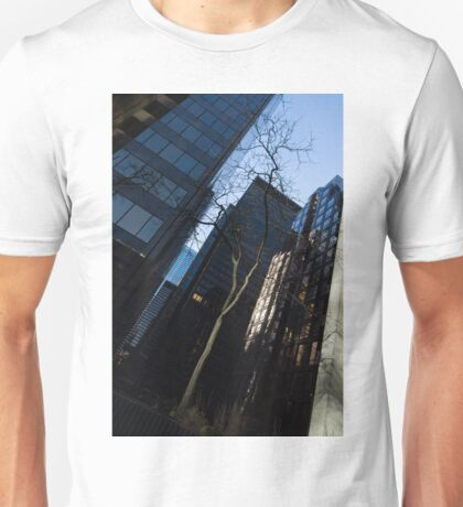 A Study in Contrasts - Downtown Toronto Miniature Park - Right Unisex T-Shirt