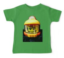 Lego Space Miner minifigure Baby Tee