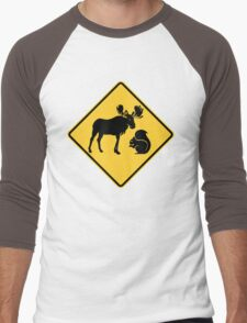 Moose & Squirrel XING Men's Baseball ¾ T-Shirt