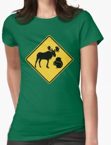 Moose & Squirrel XING Womens Fitted T-Shirt