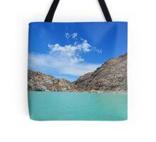 Amazing lake in the mountain Tote Bag