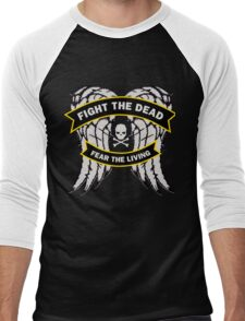 Fight the Dead Fear the Living Men's Baseball ¾ T-Shirt