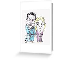 Mitt and Anne Romney- after the election Greeting Card