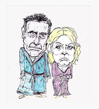 Mitt and Anne Romney- after the election Photographic Print