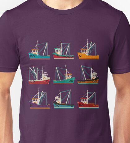 Fishing Trawlers Unisex T-Shirt