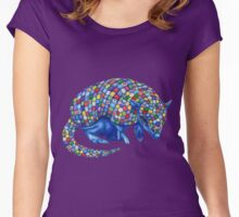 Mosaic Armadillo Women's Fitted Scoop T-Shirt