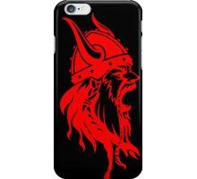 Funny American Vikings Lovers Gift, Odin T-Shirt black iPhone Case/Skin