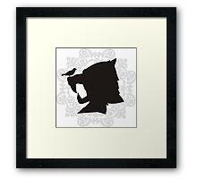 The Hound's Helm Framed Print
