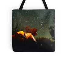 Stars and tent Tote Bag
