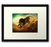 The Fury Rogue Framed Print