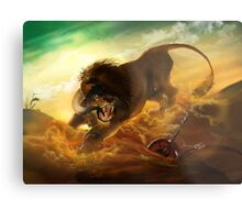 The Fury Rogue Metal Print