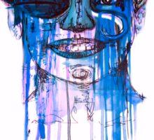 Blue Madness Sticker