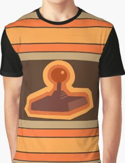 Retro Joystick Graphic T-Shirt