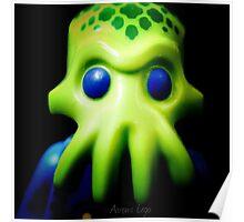 Lego Alien Trooper minifigure  Poster