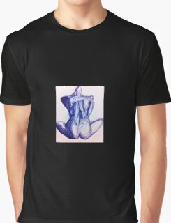 blue figure Graphic T-Shirt