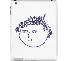 Flower Crown Face iPad Case/Skin