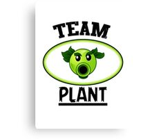 Team Plant Canvas Print