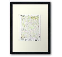 USGS TOPO Map Alabama AL Danville 303644 2000 24000 Framed Print