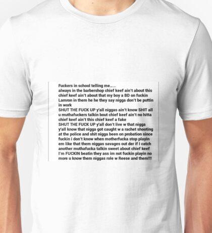 Love Sosa Intro Unisex T-Shirt