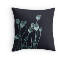 Poppy Pepper Pots Throw Pillow