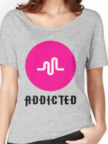Musically Addicted - Musically Fan Women's Relaxed Fit T-Shirt