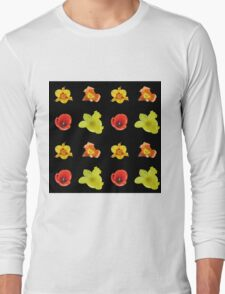 4 tulips pattern Long Sleeve T-Shirt