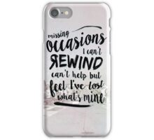 Troye Sivan Suburbia Lyrics (not mine) iPhone Case/Skin