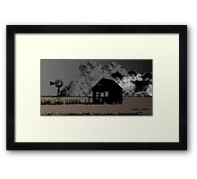 The Dust Bowl 2013 Framed Print