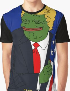 Pepe Trump Graphic T-Shirt